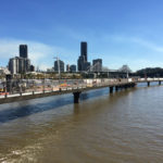 Images of the Brisbane City Riverwalk Redevelopment