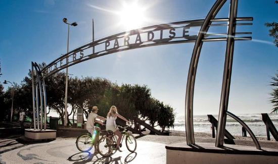 Surfers Paradise Sign