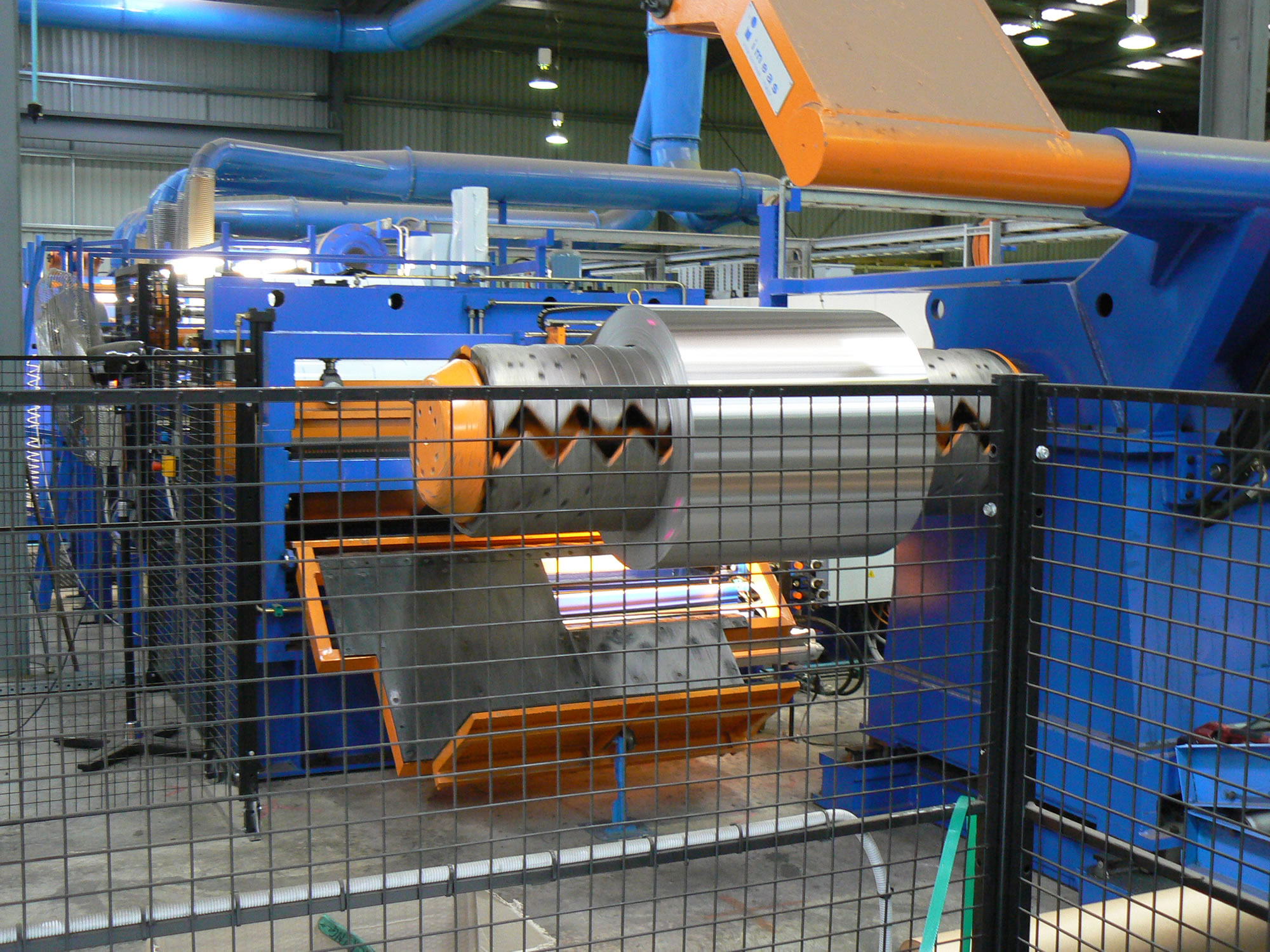 Sheet & Coil Polishing Machine